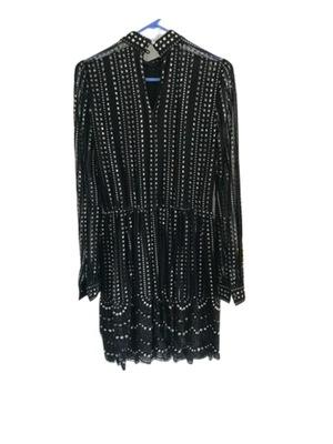 Buy: Black Sequin Dress Size 8