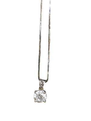 Buy: 1.25 Carats White Gold Necklace