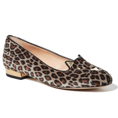 Buy: Kitty Flats Leopard Velvet Size 7.5