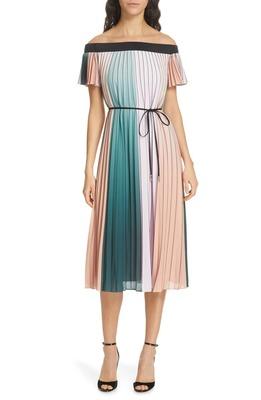 Buy: New Season Fernee Pleat Dress Size 10/12 BNWT