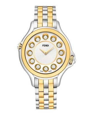 Buy: Two Tone Crazy Carats Watch