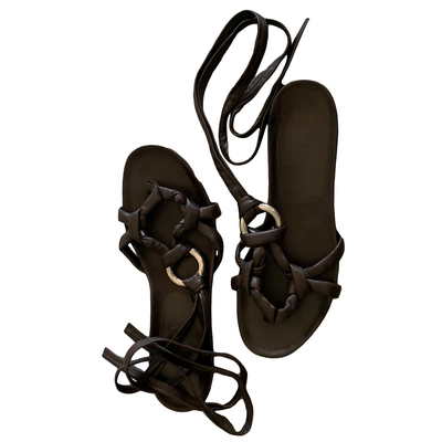 Buy: Strappy Thong Sandals Size 39