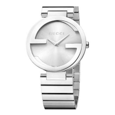 Buy: Ladies Interlocking G Silver Dial Watch