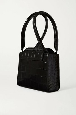 Buy: Sabrina Small Croc-effect Leather Tote