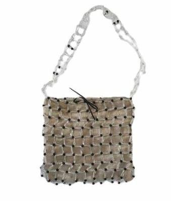 Buy: Brown Beaded  Bag
