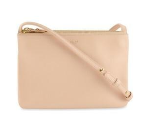 Buy: Small Pink Lambskin Leather Cross Body Bag