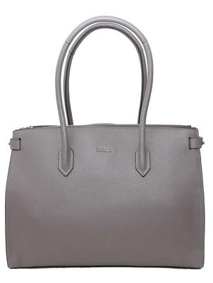 Buy: Grey leather bag