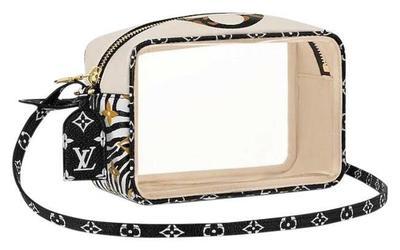 Buy: Jungle Giant Monogram Ivory Beige Crossbody Bag