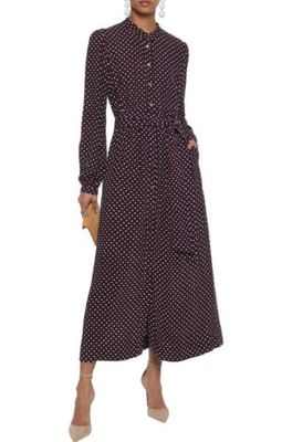 Buy: Grape Polka dots Maxi Dress Size 10