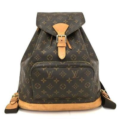 Buy: Montsouris Monogram Backpack