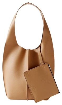 Buy: Adrienne Textured-leather Shoulder Bag