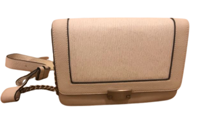 Buy: White leather handbag