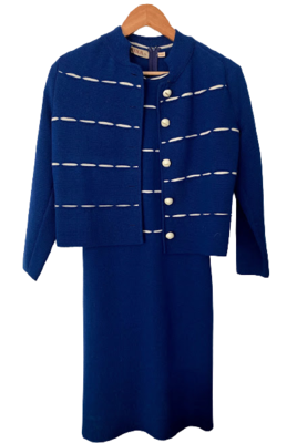 Buy: Wool dress with matching cardigan Size 8