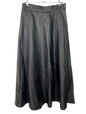 Buy: A-line leather skirt Size 10