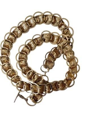 Rent: 70s gold chain belt
