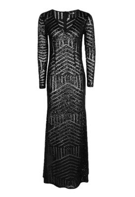 Buy: Sequin Long Sleeve Maxi Dress BNWT Size 14