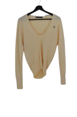 Buy: Cream Knit with V Neck Size 6