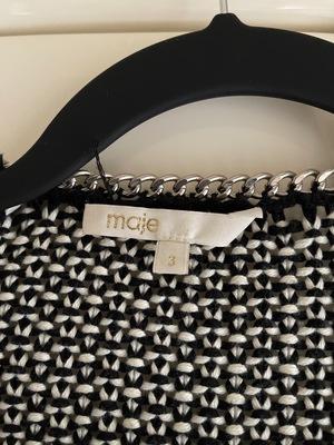 Buy: Maje Boucle Knit cardigan