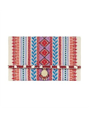 Buy: Embroided Clutch