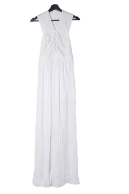 Buy: White Maxi Dress size 8