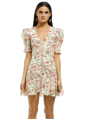 Buy: Floral Mini Dress Size 8