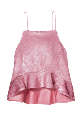 Buy: Ruffled Sequined Camisole Size 8