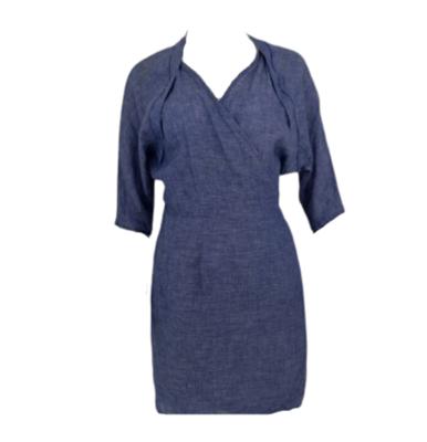 Buy: Blue Wrap Dress Size 12