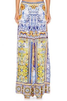 Buy: Road to Seville pleat detail wide leg pants Size 25