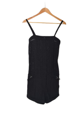 Buy: Black dress with cut-out holes Size 8