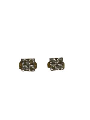 Buy: 9ct Gold Diamond Stud Earrings