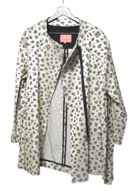Buy: Leopard Print Jacket Size 12