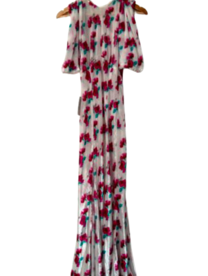 Rent: Incredible floral evening dress BNWT Size 6