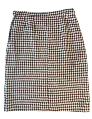 Buy: Vintage houndstooth pencil skirt Size 12-14