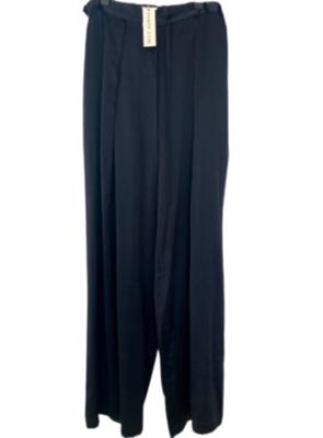 Buy: Black silk pants Size BNWT 29-30