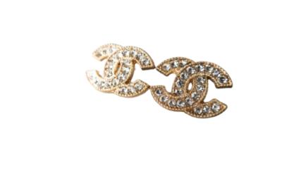 Buy: Swarovski Button Earrings