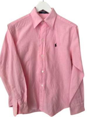 Buy: preppy pink shirt Size 12