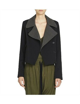 Buy: Double Breasted Wool Jacket Size 10