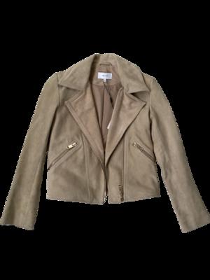 Buy: Suede Biker Jacket size 6