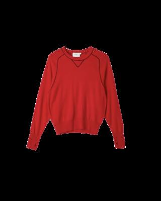 Buy: Contrast Stitch Cashmere Knit Size 10