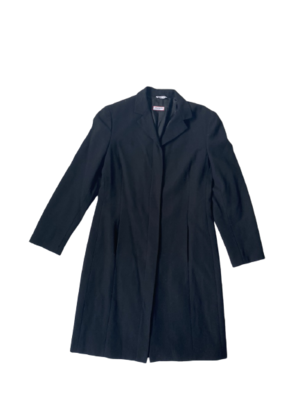 Buy: Black Wool Coat Size 10
