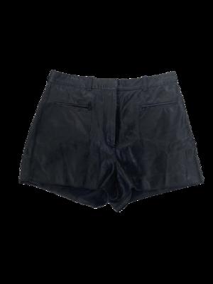 Buy: Black Leather Mini Shorts Size 6