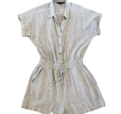Buy: Linen striped playsuit Size 8