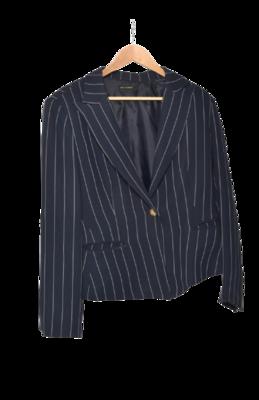 Buy: Pin Striped Navy Blazer Size 14