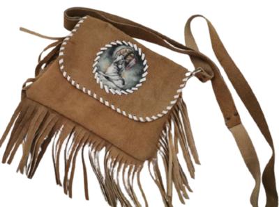 Buy: Suede Navaho Indian Design