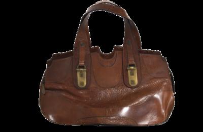 Buy: Vintage Brown Leather Bag