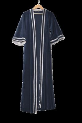 Buy: Loungewear navy bathrobe