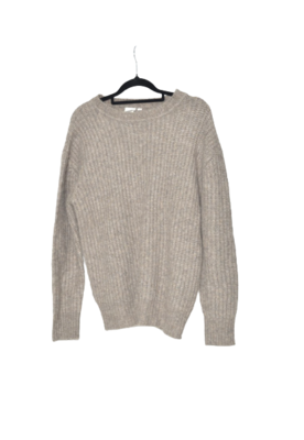 Buy: Beige Knitted Sweater Size 8