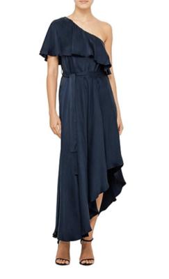 Buy: Navy Silk Dress Size 10