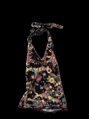 Buy: Flower Printed Halter Top Size 8