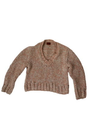 Buy: Pink Knitted Jumper Size 8-10